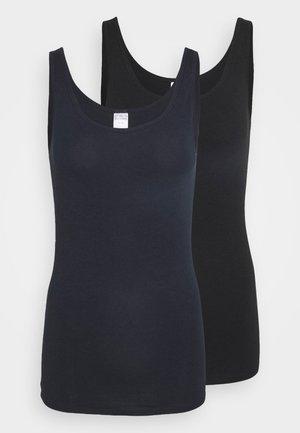 2 PACK - Unterhemd/-shirt - blue/black