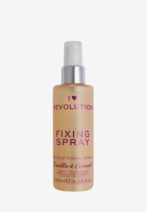 I HEART REVOLUTION FIXING SPRAY VANILLA BEAN & COCONUT - Setting spray & powder - clear