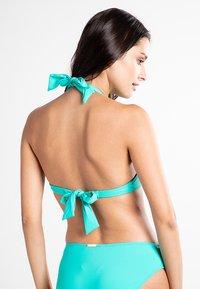 Lauren Ralph Lauren - BEACH CLUB SOLIDS  - Bikini top - light aqua - 1