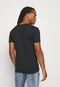 Replay - Basic T-shirt - off black - 2