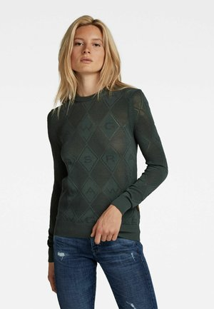 POINTELLE - Sweater - graphite