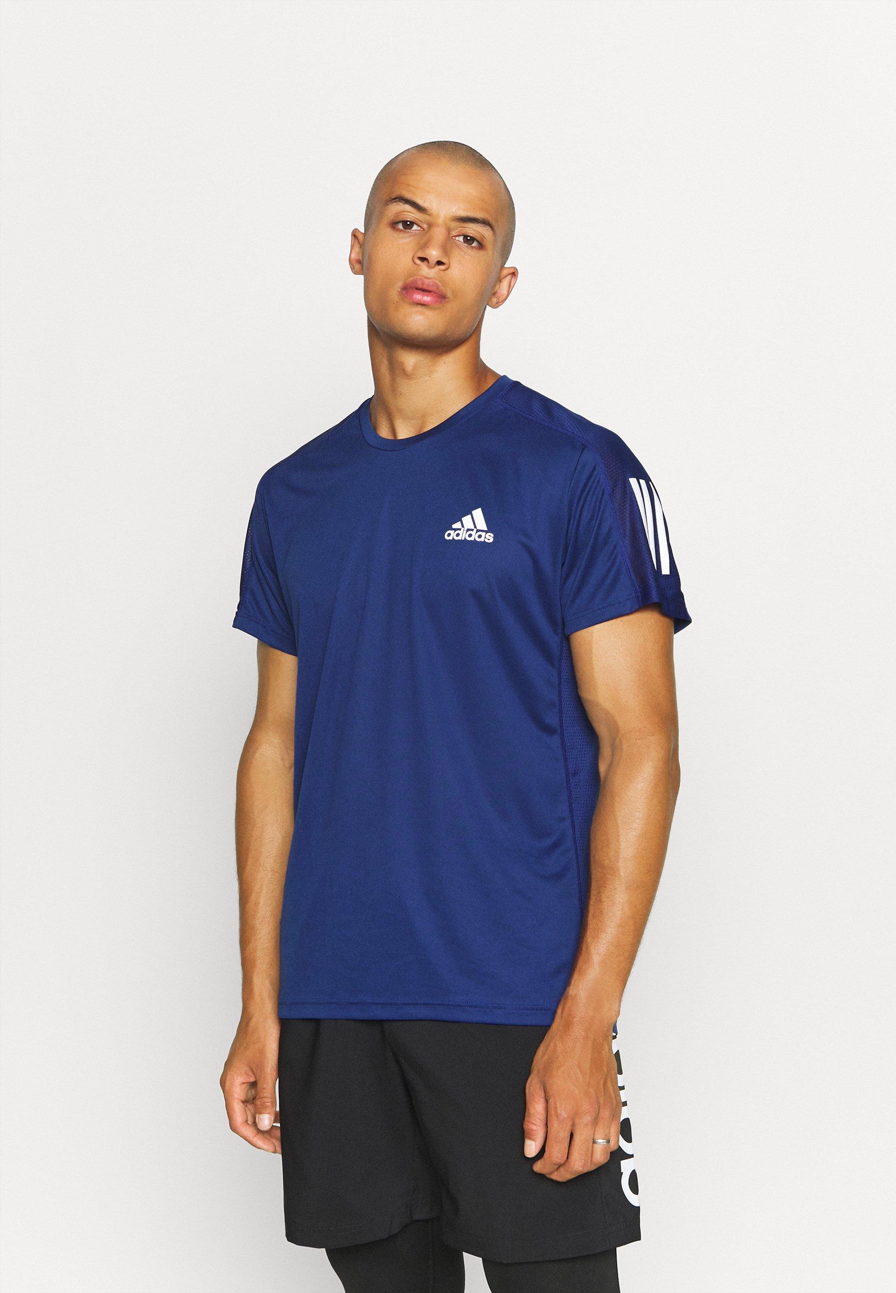 Uomo OWN THE RUNNING RESPONSE AEROREADY PRIMEGREEN T-SHIRT - T-shirt con stampa