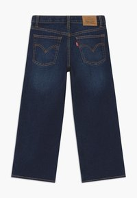 Levi's® - CROPPED WIDE LEG - Relaxed fit -farkut - dark-blue denim - 1