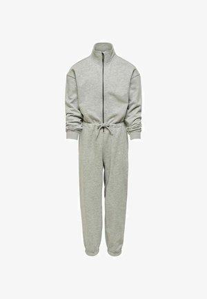 REISSVERSCHLUSS - Jumpsuit - light grey melange