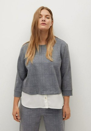WILLIAM - Blouse - grau