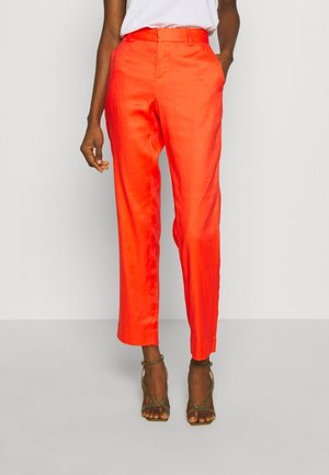 AVERY - Trousers - hyper coral neon