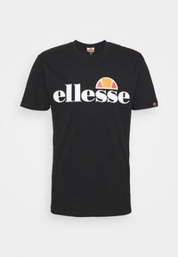 Ellesse - SMALL LOGO PRADO - Camiseta estampada - black - 3
