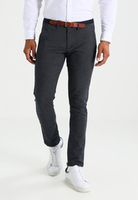 Selected Homme - SHXYARD STRUCTURE SLIM FIT - Chino - dark sapphire - 0