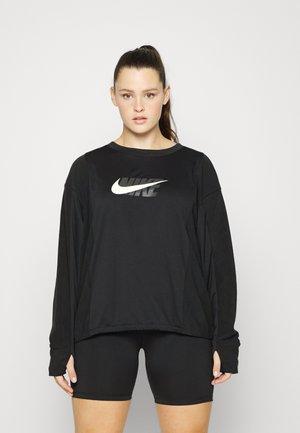 MIDLAYER - Sweatshirt - black/smoke grey/sail