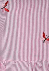 Zwillingsherz - Day dress - rosa/weiß - 2