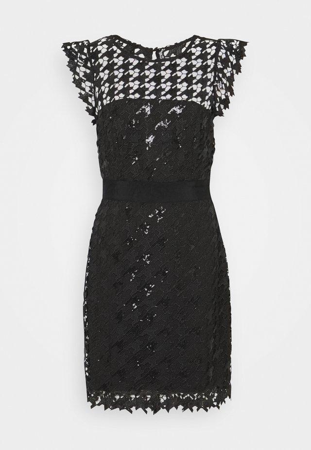 LEILA DRESS - Korte jurk - black