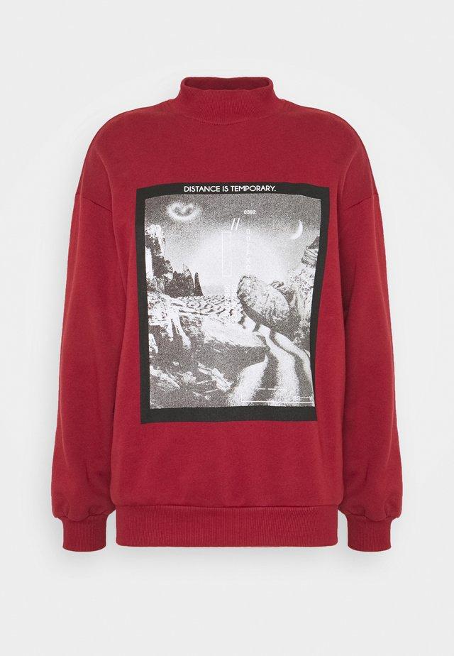 Sweatshirt - cinnamon
