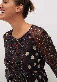 Violeta by Mango - Maxi šaty - schwarz - 3