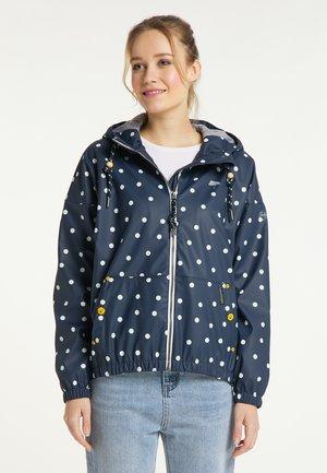 Waterproof jacket - marine dots aop