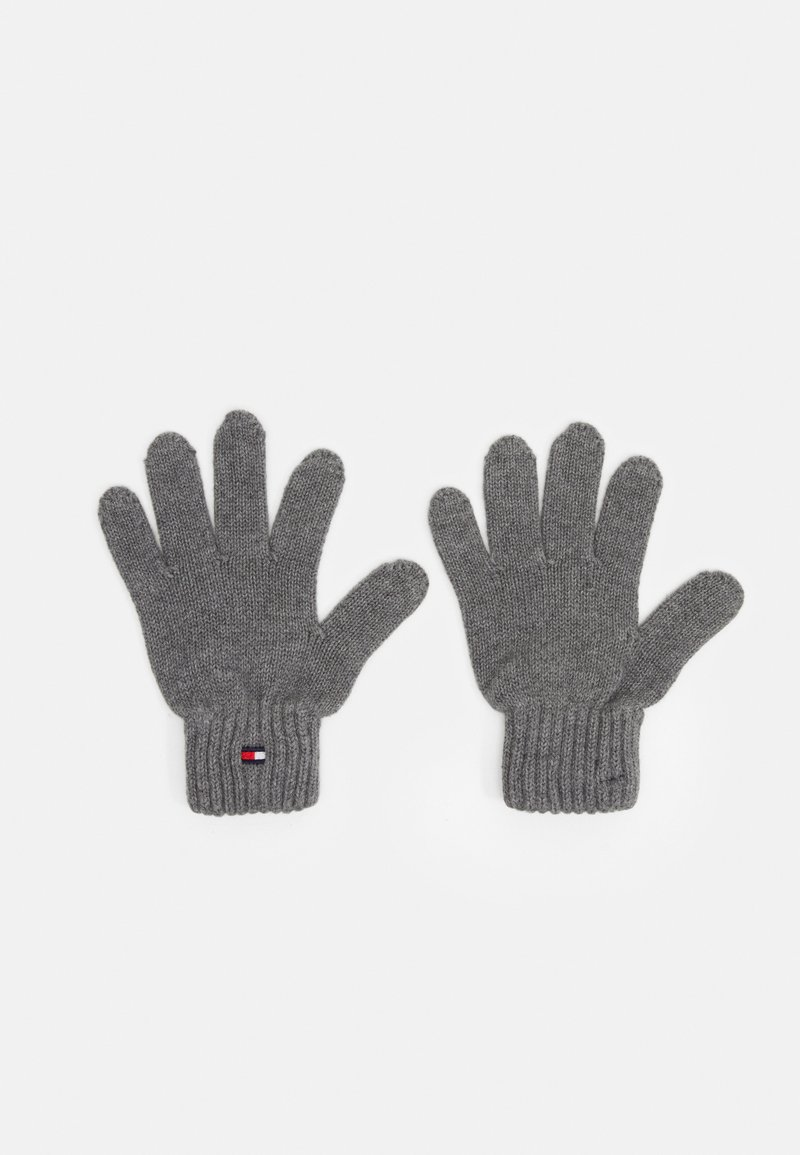 Tommy Hilfiger - FLAG GLOVES UNISEX - Rukavice - grey