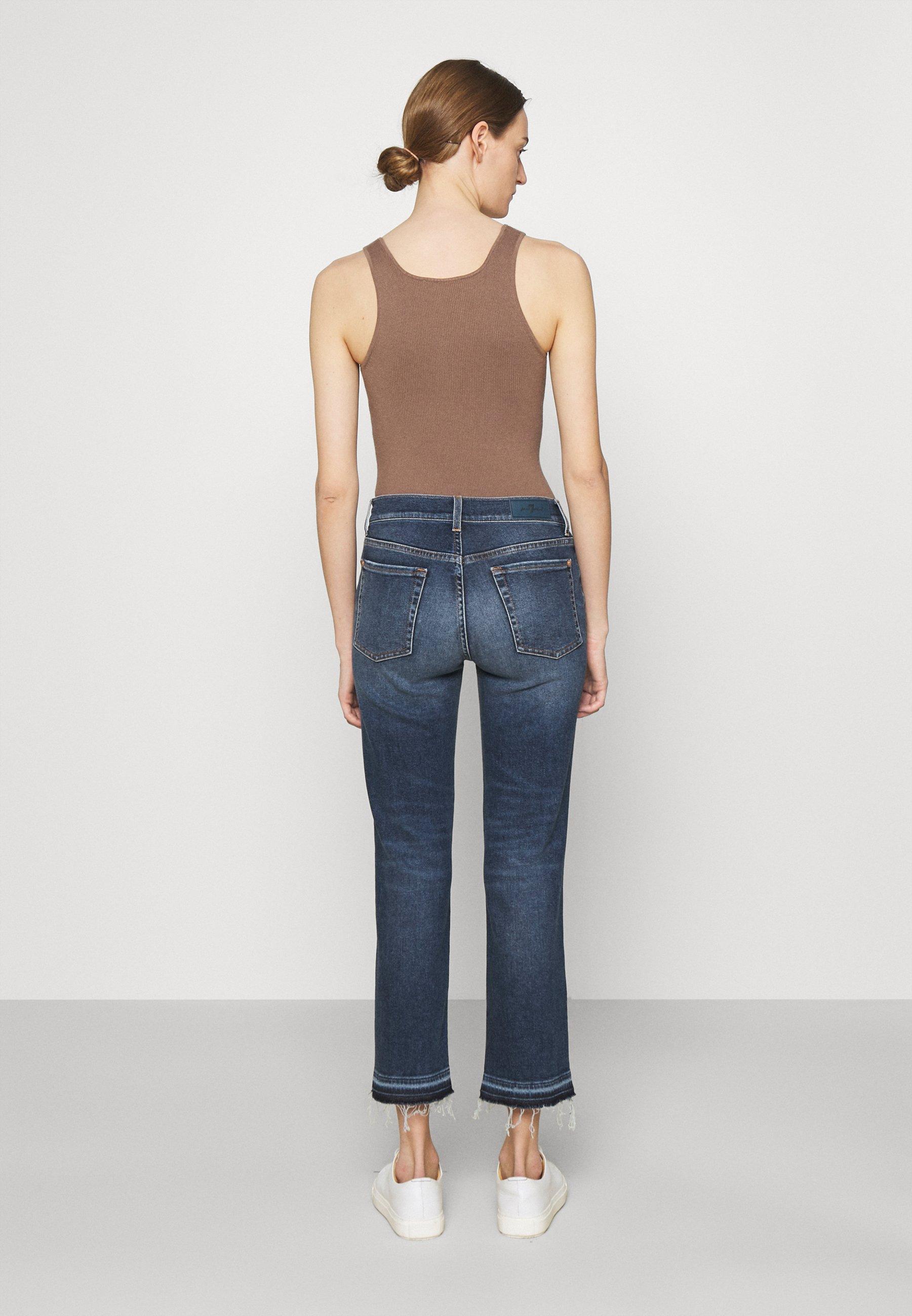 Women THE STRAIGHT CROP LUXVINMOM - Straight leg jeans