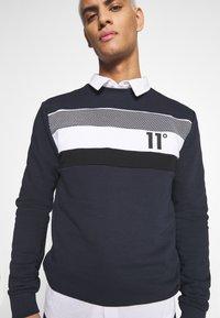 11 DEGREES - MERCURY - Sweatshirt - navy - 3