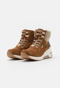 TOM TAILOR - Ankle boots - brown - 2