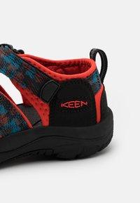Keen - NEWPORT H2 UNISEX - Walking sandals - black/orange - 5