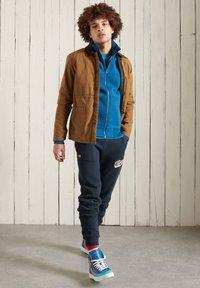 Superdry - Sweater met rits - dark cobalt marl - 0