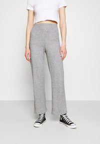WAL G. - THIERRY LOUNGE TROUSERS - Bukse - grey marl - 0