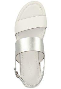 NeroGiardini - Wedge sandals - bianco - 3