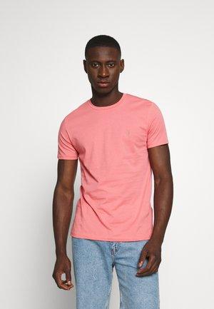 TONIC CREW - Basic T-shirt - havana pink