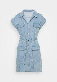 Boyish - THE JOE SAFARI DRESS - Spijkerjurk - light blue - 0