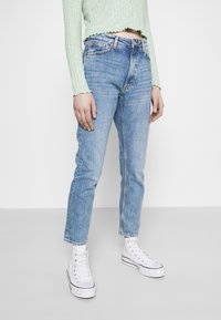 Monki - Jeans a sigaretta - blue medium dusty - 3