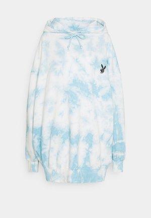 PLAYBOY  OVERSIZED HOODY DRESS - Sukienka letnia - blue