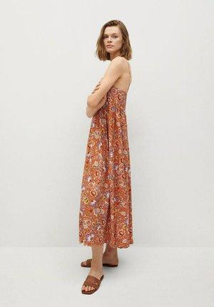 CECI - Korte jurk - oranje