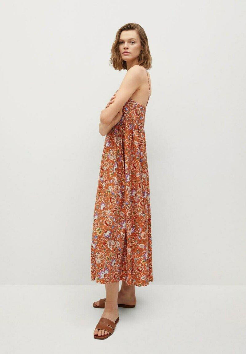 Mango - CECI - Vestido informal - oranje
