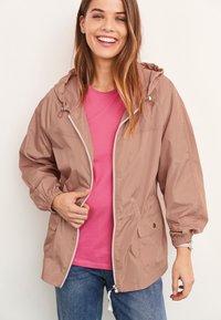 Next - Waterproof jacket - pink - 0