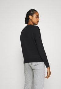Tommy Jeans - SOFT TOUCH CREW SWEATER - Svetr - black - 2