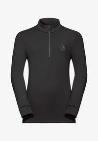 ODLO - CARVE  - Fleece jumper - black - 0