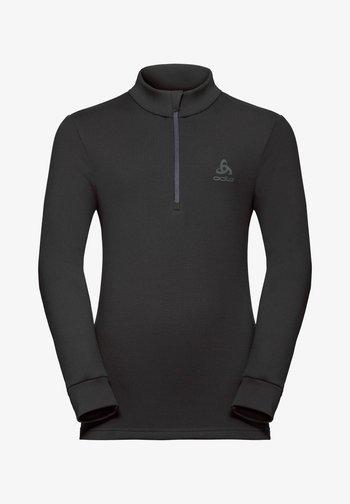 CARVE  - Fleece jumper - black