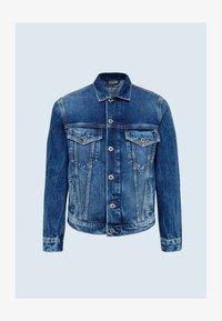 PINNER - Džínová bunda - dark blue