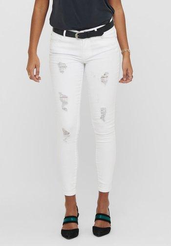 ONLCARMEN - Jeans Skinny Fit - white
