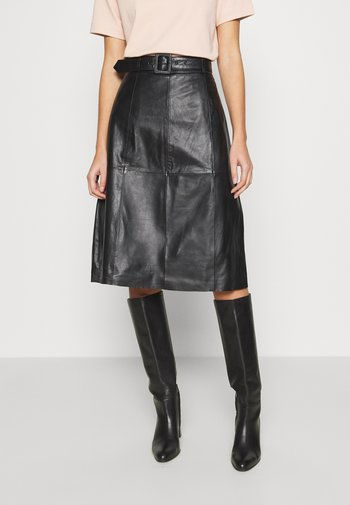 SLFOLLY   - A-line skirt - black