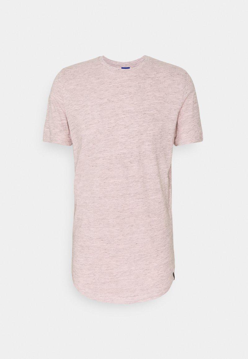 Jack & Jones - JORNOA STRUCTURE TEE CREW NECK - T-shirt med print - peachskin