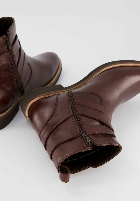 Damen WOMENSWEAR PLUS SIZE DECORATIVE STRAP LEATHER ANKLE  - Ankle Boot