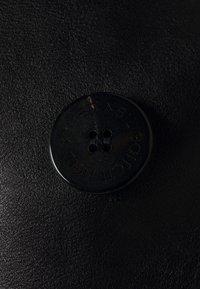 Neil Barrett - ZIP UP PEACOAT - Leather jacket - black - 2