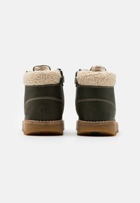 Kickers - NEWHOOKY - Lace-up ankle boots - kaki/beige - 2