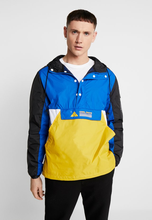 HALF ZIP  - Vindjakke - royal blue/black
