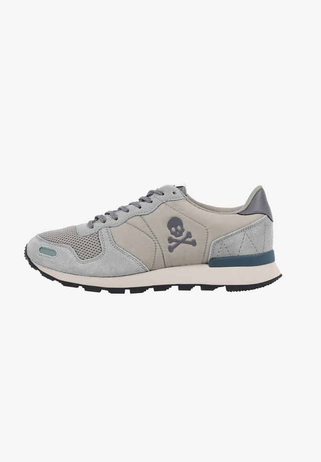 SKULL  - Baskets basses - light grey