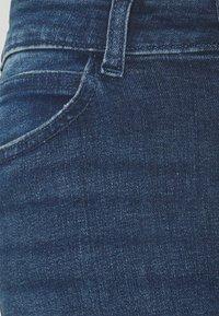 Noisy May Tall - NMLUCY - Jeansy Skinny Fit - dark blue denim - 2