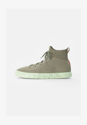 CHUCK TAYLOR ALL STAR CRATER - High-top trainers - light field surplus/string/barely volt