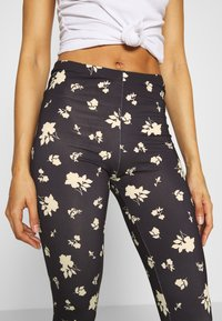 ONLY - ONLARIA LONG - Leggings - Trousers - black - 3