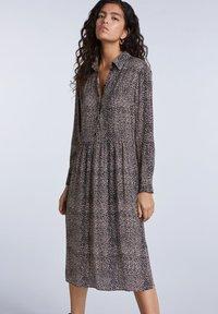 SET - Shirt dress - light stone grey - 3