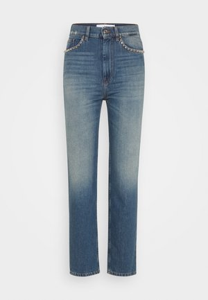 DAME - Slim fit jeans - country mid blue